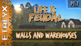Life Is Feudal - Walls And Warehouses [pt.7]