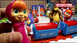 Masha The Bear And Thomas Kereta Api |  Masha e Orso | Маша и Медведь