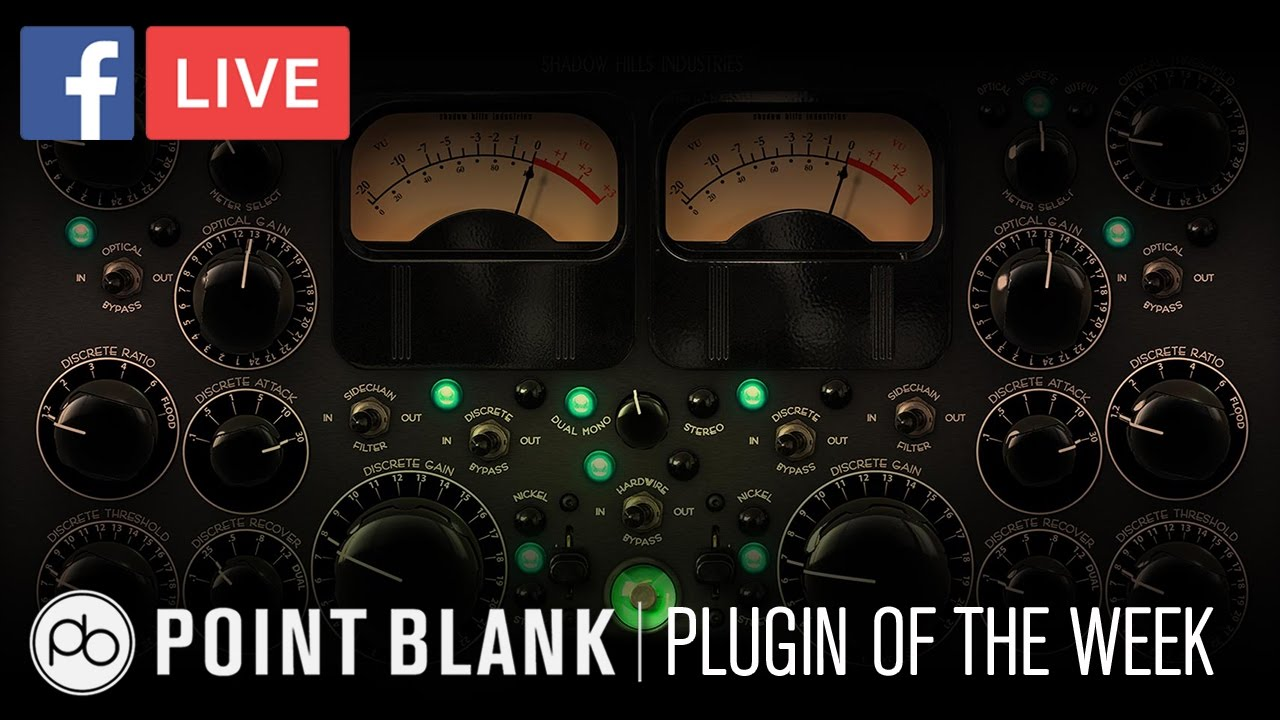 Plugin of the Week: UAD Shadow Hills Mastering Compressor -