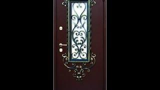 Металлическая дверь с окном и элементами холодной ковки.(http://www.diy.ru/dom_i_uchastok/68_stroitelstvo_doma/86_dveri/metallicheskaya-dver-s-oknom-i-dekorom-v-tehnike-holodnoj-kovki/, 2014-03-02T21:06:26.000Z)