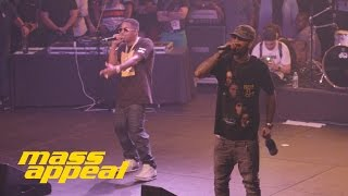 "Dave East feat. Nas ""Forbes List"" (Live at Mass Appeal BBQ SXSW)"