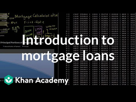 introduction-to-mortgage-loans-|-housing-|-finance-&-capital-markets-|-khan-academy