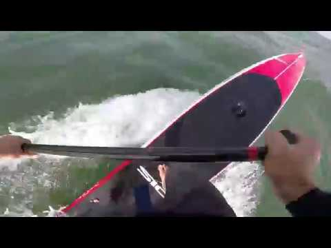 SUP downwind (20 knots) - FX sequences