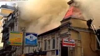 Сильный пожар задымил центр Киева(Сильный пожар задымил центр Киева Видео:YouTube/Serge KeymаnОтмечается, что пожар вызвал сильное задымление окрес..., 2015-03-04T10:48:47.000Z)