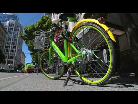 Seattle tries bike sharing, again.