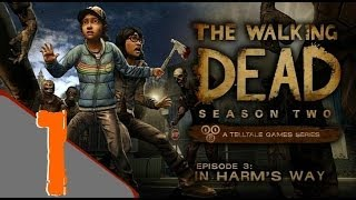 The Walking Dead: Season 2 - Episode 3: In Harm's Way Walkthrough Part 1