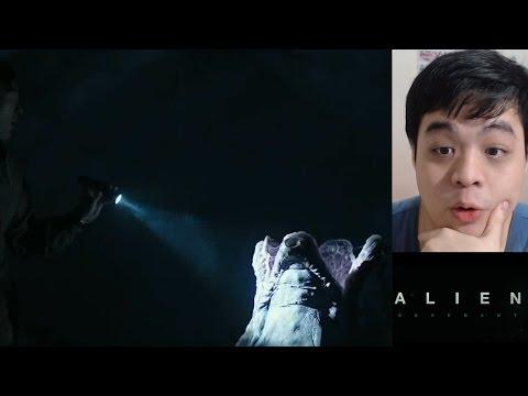 We landed on the Engineer's Planet? - Alien Covenant Trailer 1 Reaction