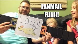 fan mail fun grim opens tons of your letters and packages w his kids june 21 2014