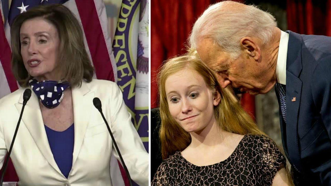 DOUBLE STANDARD: Watch Nancy Pelosi Completely Contradict Herself in an Attempt to Defend Joe Biden