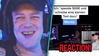 Reaktion auf