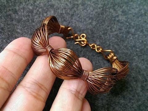 Simple Wire Bracelet Handmade Copper Jewelry 243