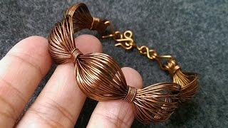 simple Wire bracelet - handmade copper jewelry 243