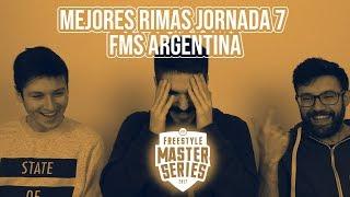 FMS ARGENTINA   JORNADA 7   MEJORES MOMENTOS   REACCIÓN