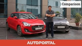 Maruti Suzuki Swift vs Hyundai Grand i10 Comparison - Autoportal