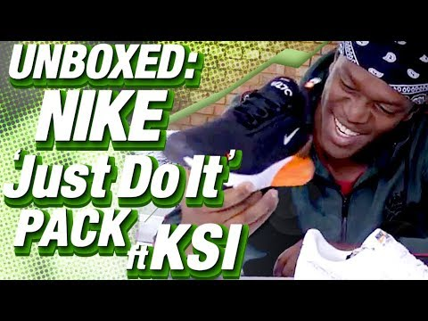 87f433c10f Unboxed: Nike 'Just Do It' Pack ft. KSI, Yung Filly and Ediz + WIN A PAIR.  Footasylum