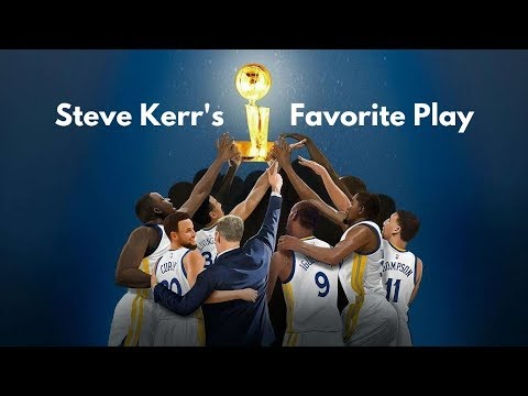 Steve Kerr's Favorite Play Of The Warriors Five-Year NBA Finals Run   Book Of Basketball 2.0