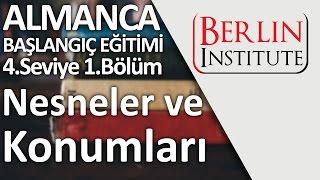 Almanca Başlangıç Eğitimi 4-1.Bölüm - Nesneler ve Konumları (HD)