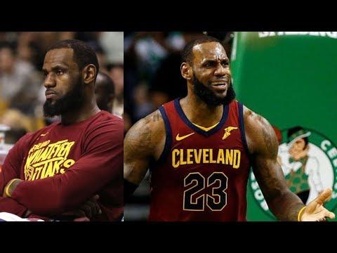 Celtics Blowout LeSuits! LeBron 15 Points Game 1! 2018 NBA Playoffs