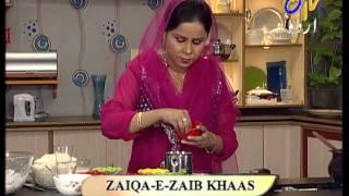Aks-E-Rasoi - Kur Kuri Mutton Chop, Mango Custard Pancake and Zaika-E-Zaib khaas