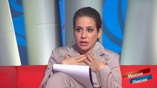 """""""Я знаю, как боятся мужики, у меня хороший опыт!"""" - Юлия Барановская успокаивает гостя"""