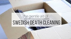 THE GENTLE ART OF SWEDISH DEATH CLEANING   new minimalism trend?