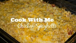 Cook With Me: The Best Chicken Spaghetti You Will Ever Eat!  VLOG STYLE
