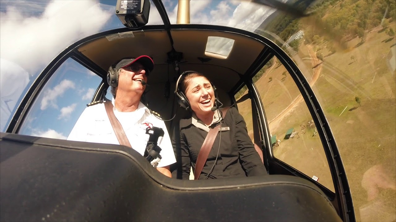 Helicopter Joy Flights in south east Queensland and New