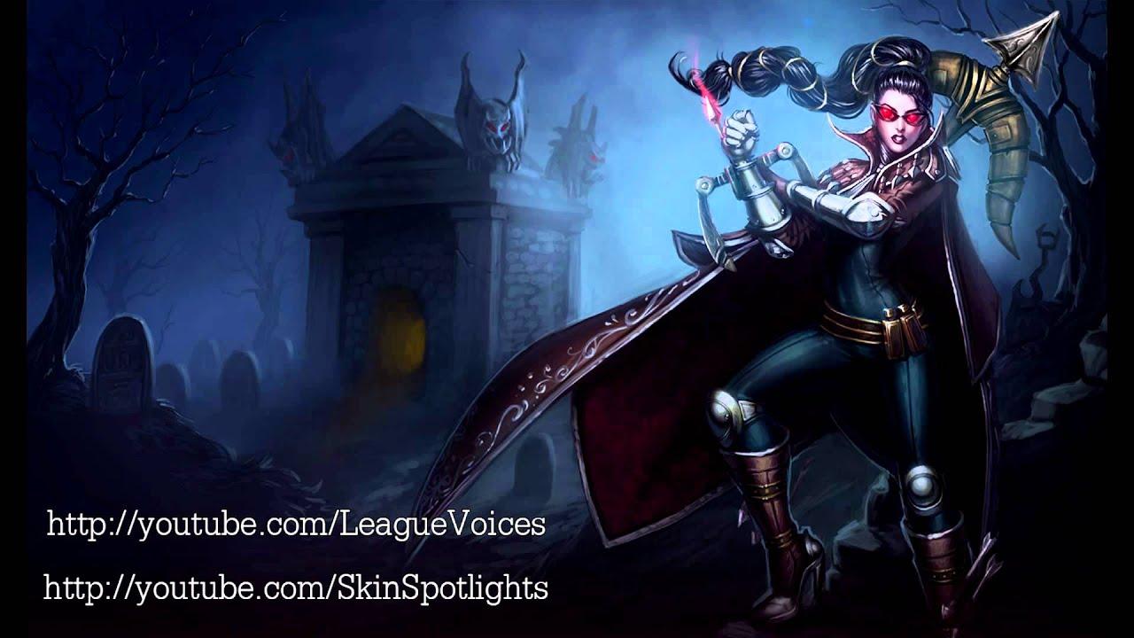 Draven Voice - English - League of Legends - YouTube