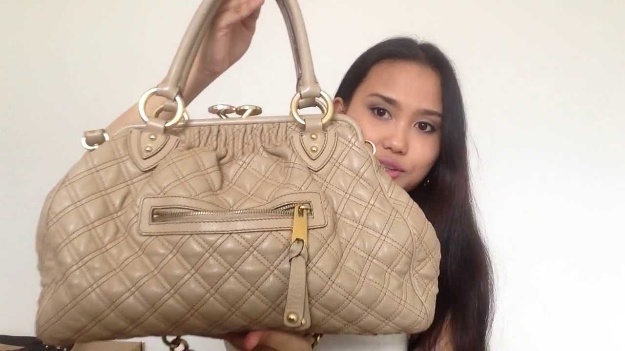 fef96722fbb Marc Jacobs Stam Bag in Blush. How to tell Real or Fake..! :-) - YouTube