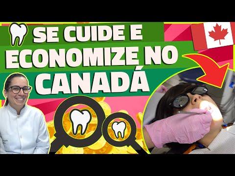FOMOS TRATAR OS DENTES NO CANADÁ GASTANDO POUCO