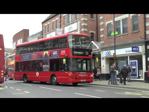 KINGSTON UPON THAMES BUSES MARCH 2017