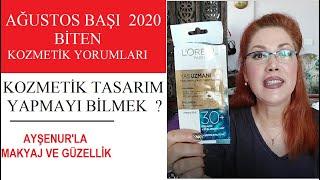 Ağustos Başı 2020 Biten Kozmetiklerin Yorumu