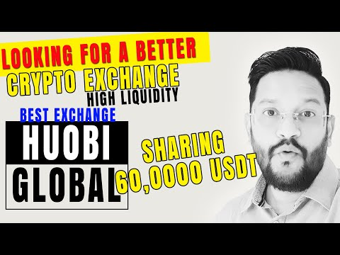 Huobi Global - Best Cryptocurrency Exchange for Indian Crypto Users with High Liquidity.