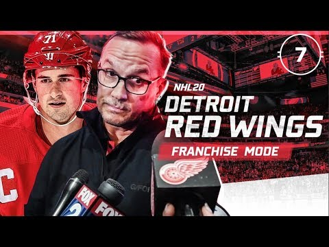 NHL 20: DETROIT RED WINGS FRANCHISE MODE - SEASON 7