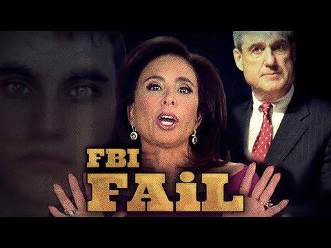 Jeanine Pirro tears the FBI a New One- AGAIN