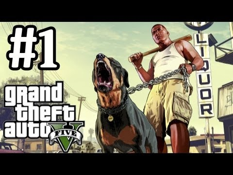 GTA 5 Walkthrough Part 1 With Commentary -...