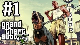 GTA 5 Walkthrough Part 1 With Commentary - Simply Incredible - Grand Theft Auto V Let