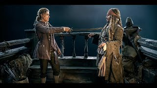 Pirates of the Caribbean 5 FULL FINAL BATTLE  ENDING SCENES  Barbossa Death Scene