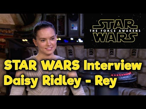 Star Wars - The Force Awakens - Access All Areas - Daisy Ridley
