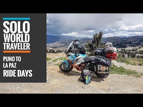 Ride Day 55: Puno, Peru to La Paz, Bolivia by Motorbike