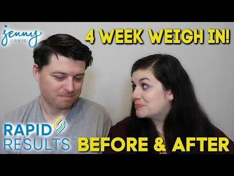 4 Week Weigh In And Before After Photos Jenny Craig Rapid