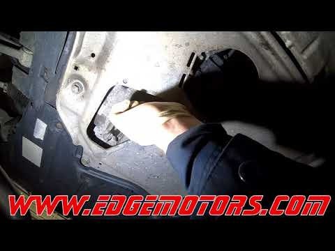 BMW X5 3 0L Oil Change Service and Drain Plug Repair DIY by Edge Motors