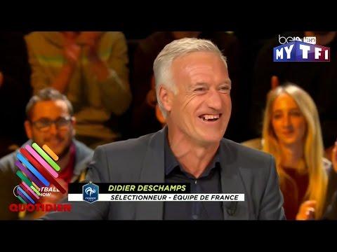 Le défi de Didier Deschamps : ne jamais utiliser le X ! Quotiden Express du 22 Novembre