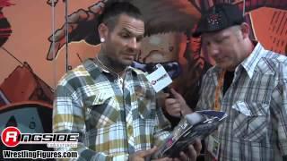 Jeff Hardy Interview Jakks TNA IMPACT SDCC 2012