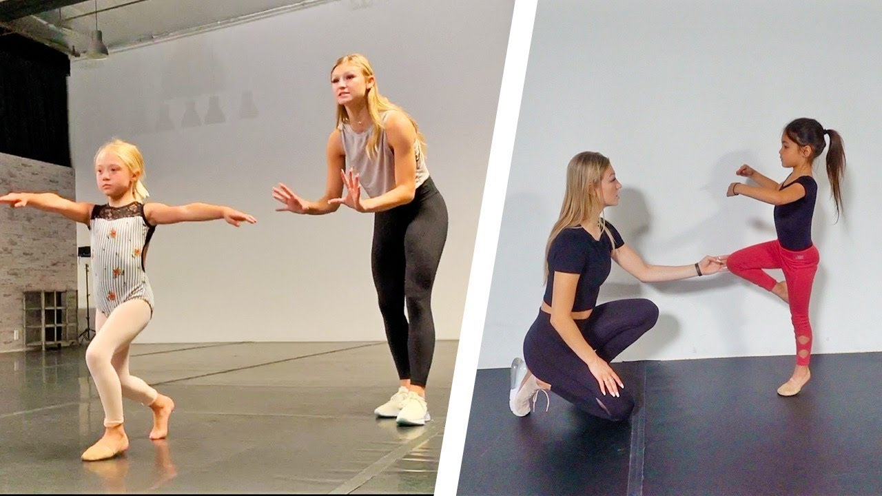 13 TURNS FOR 6 YEAR OLDS IN DANCE CLASS WITH AUTUMN MILLER!