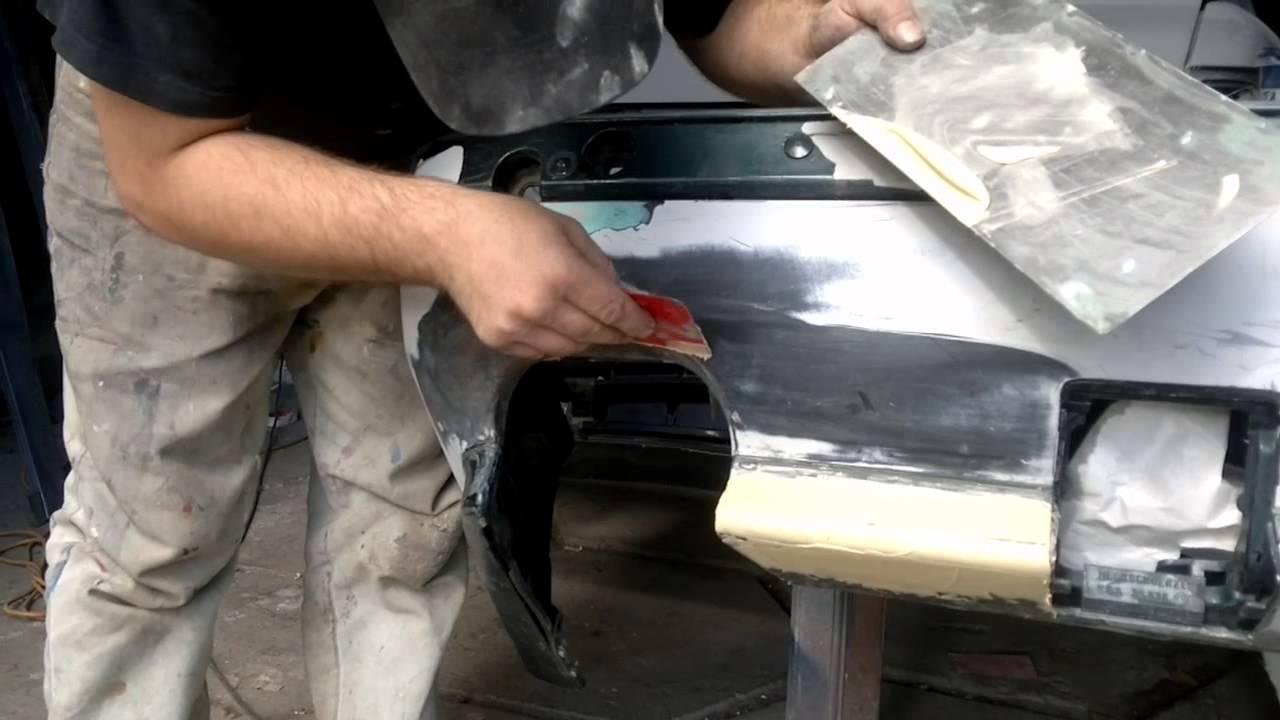 Ремонт бампера автомобиля своими руками