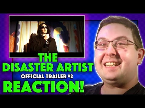 REACTION! The Disaster Artist Trailer #2 - James Franco Movie 2017