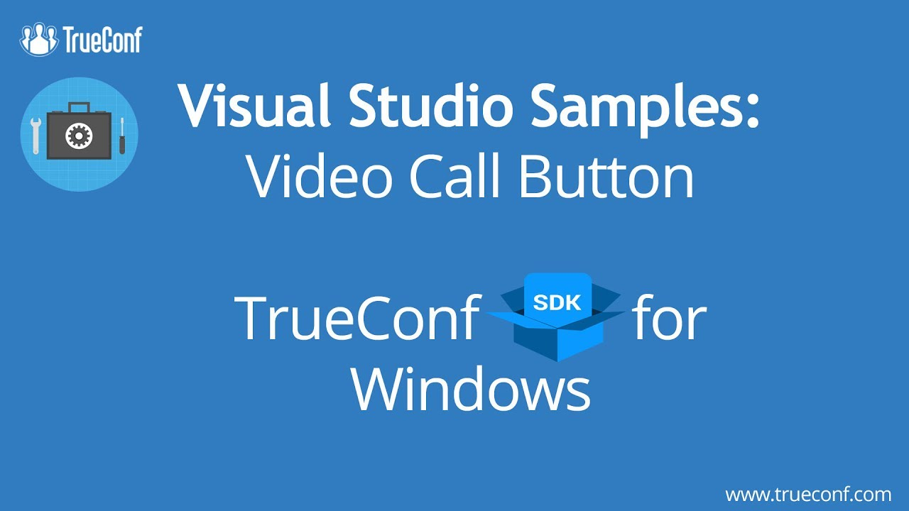 Video Conferencing SDK and API for developers — TrueСonf