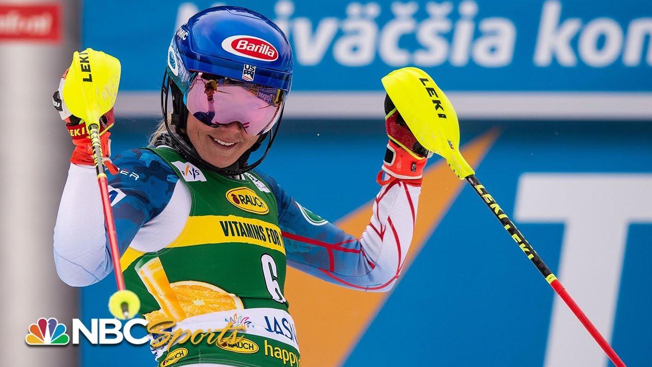 Mikaela Shiffrin smokes run 2, overtakes archrival Vlhova to win World Cup slalom   NBC Sports