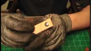 Download Leather working myth. - Rivet vs thread Mp3 and Videos
